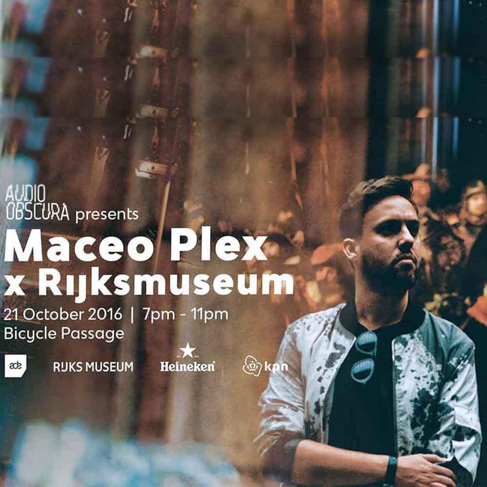 Maceo Plex x Rijksmuseum