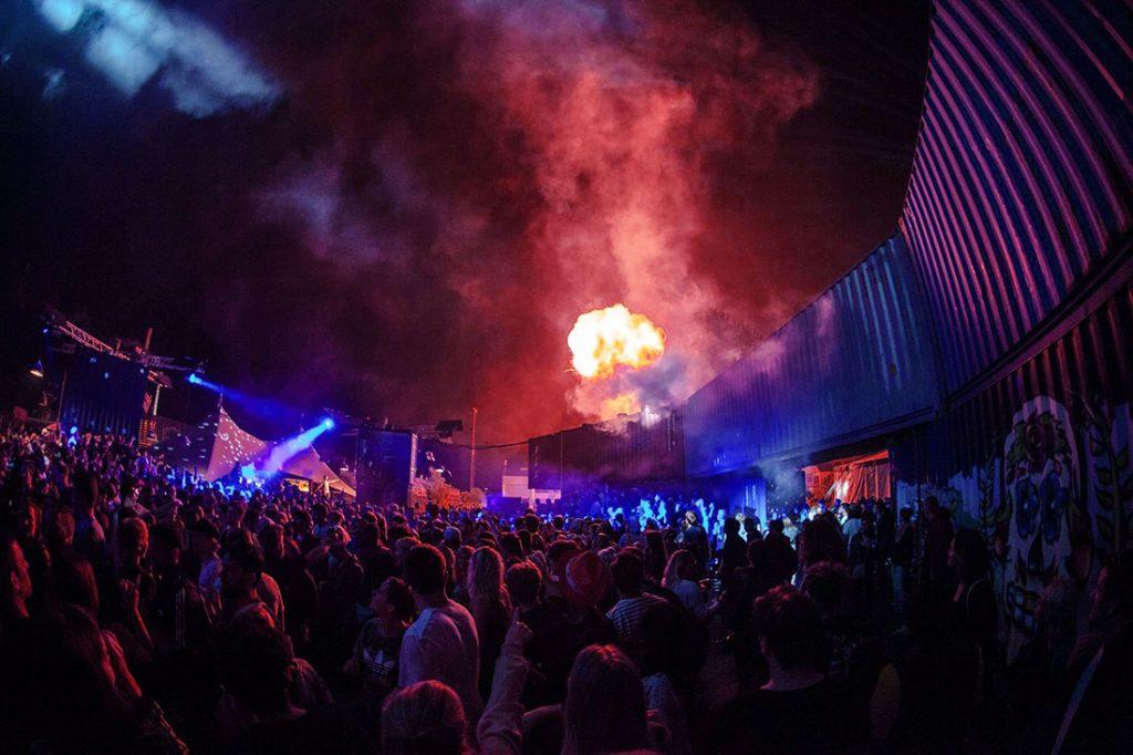 Distortion Festival foto by Hjalte Winther