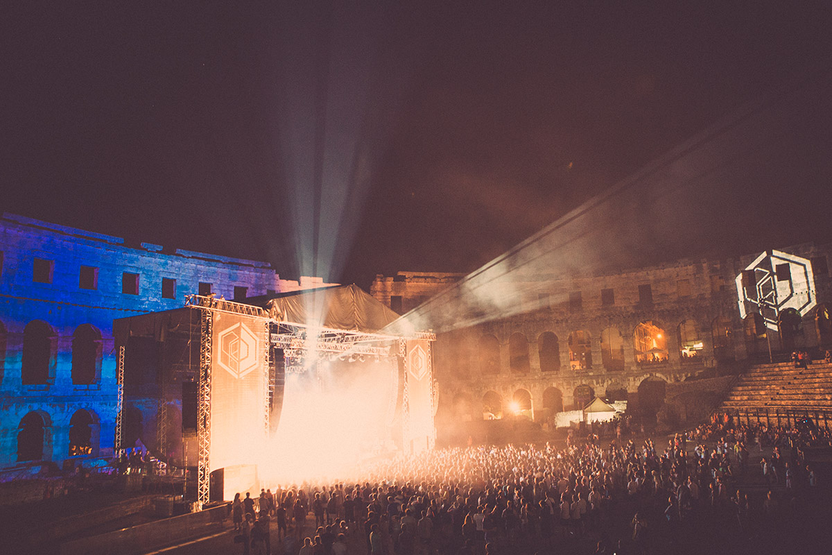 Dimensions Festival Amphitheatre