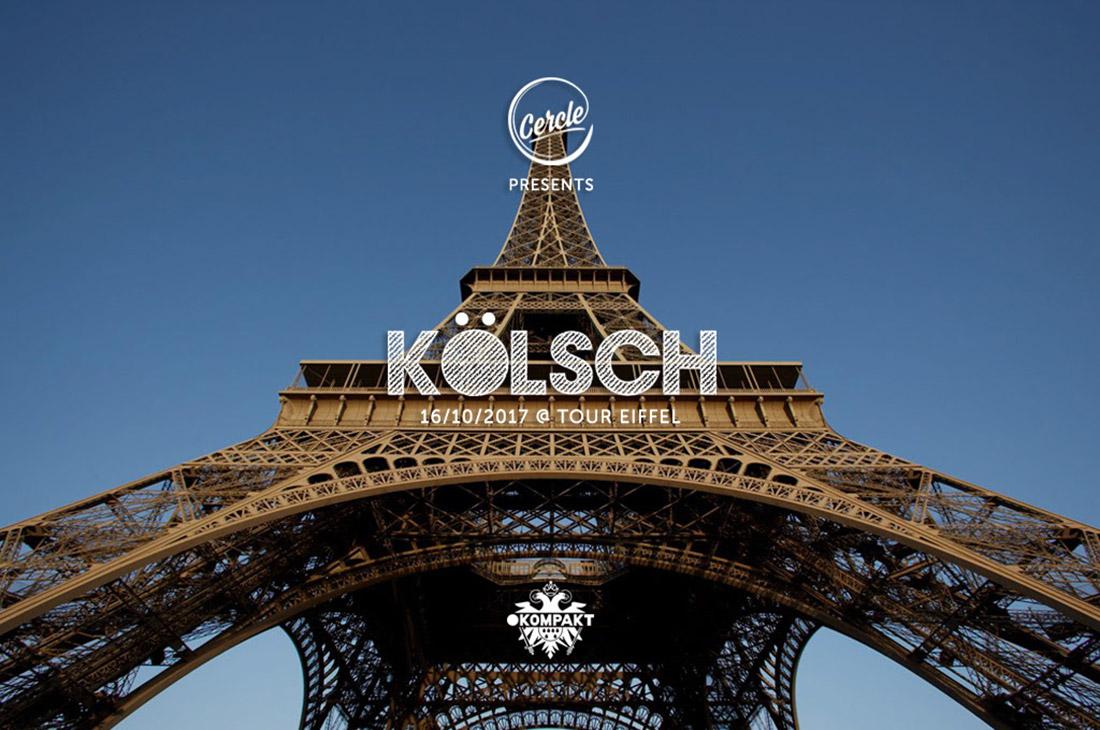 Stream Live Kolsch Atop Eiffel Tower