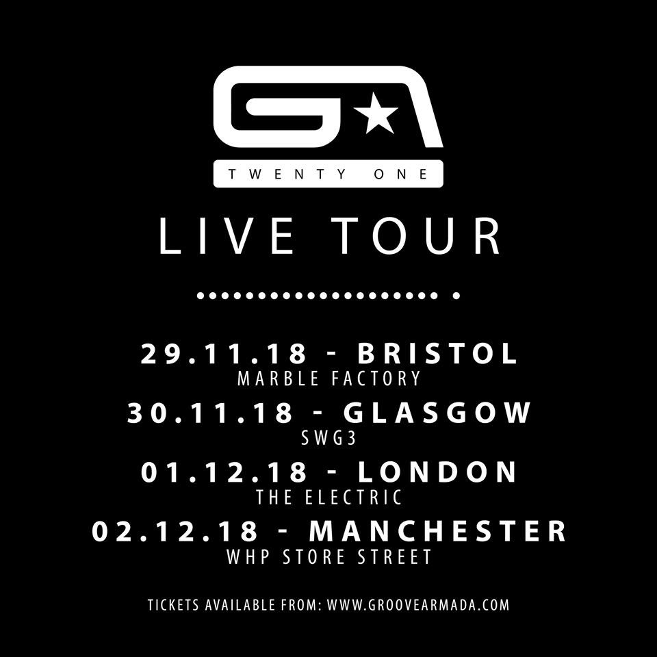 Groove Armada UK Tour