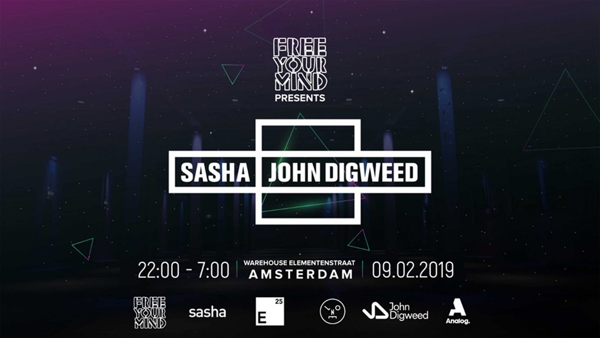 Sasha and John Digweed Free Your Mind