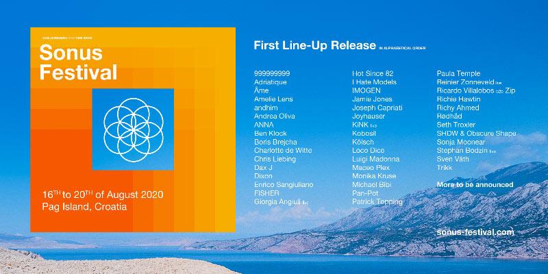 Sonus Festival 2020 lineup