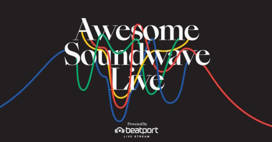 Awesome Soundwave Live Powered by Beatport with Carl Cox, Hannes Bieger, Marc Romboy, and more