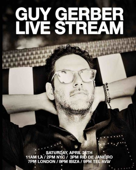 Guy Gerber Live Stream