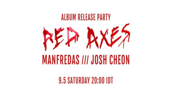 Red Axes Album Release party stream with Manfredas and Josh